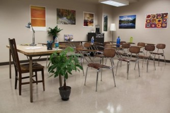Neutral classroom